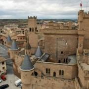 El castillo de Olite en Navarra Media